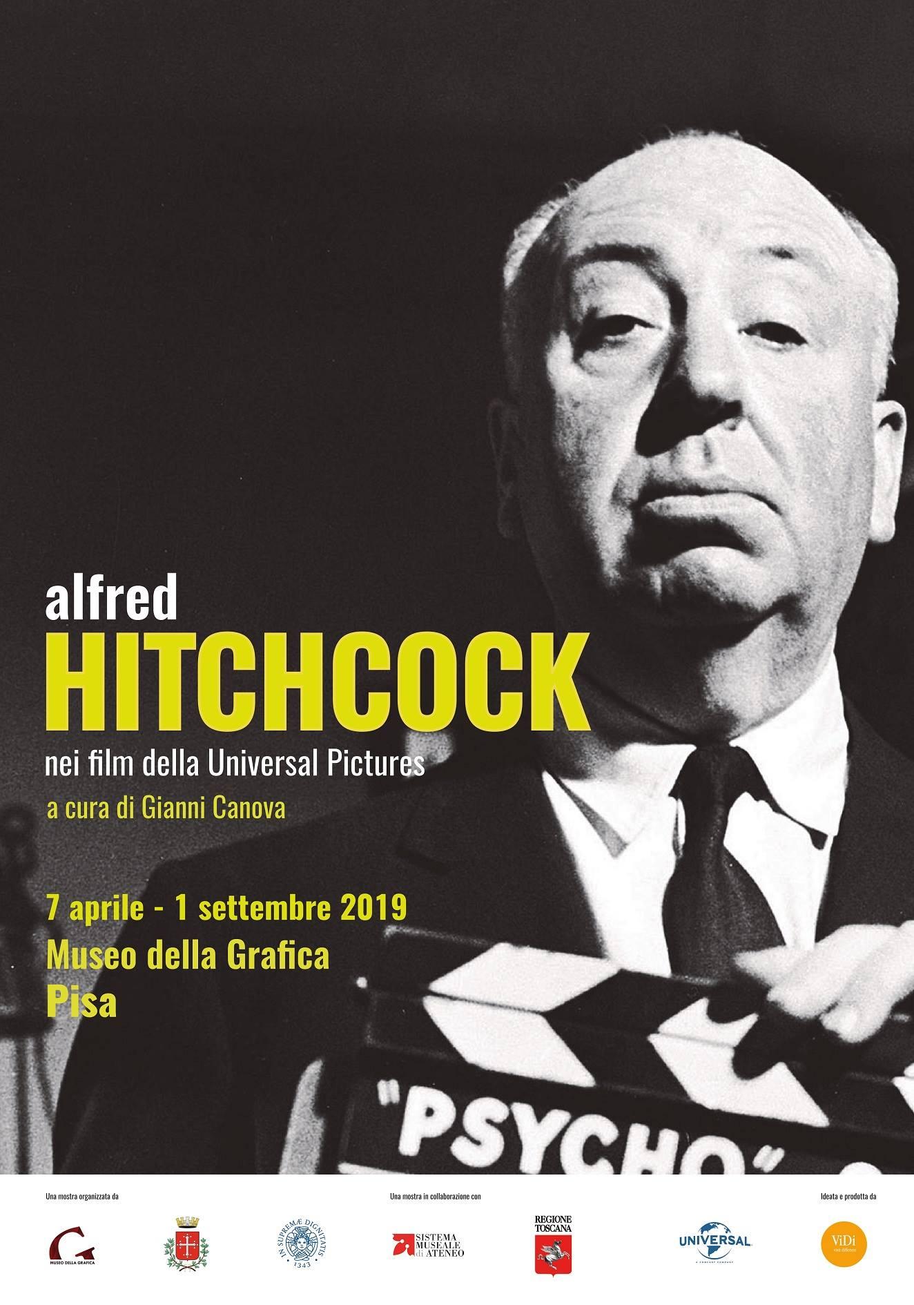 Rivivi Le Mostre Alfred Hitchcock Nei Film Della Universal Pictures 7 Aprile 1 Settembre 2019 Museo Della Grafica Di Pisa Palazzo Lanfranchi